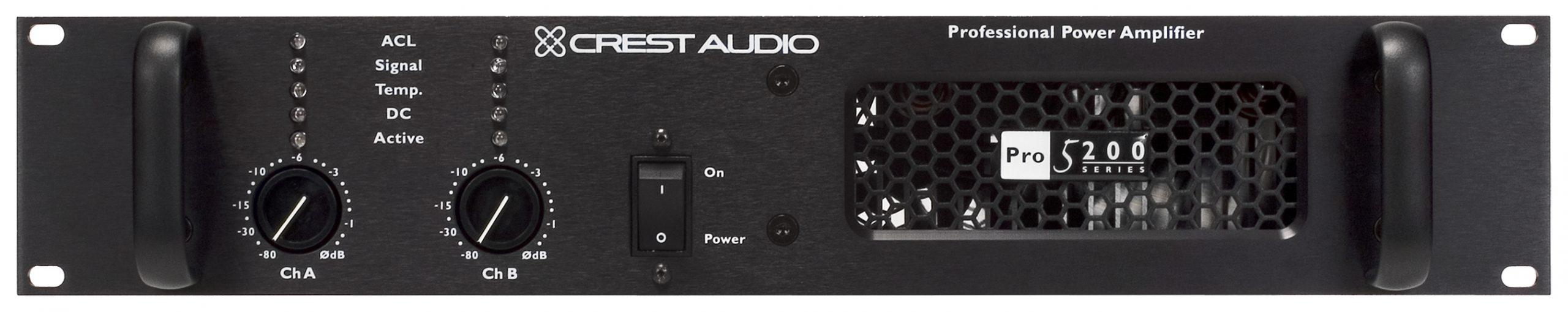 Image result for crest audio pro 5200