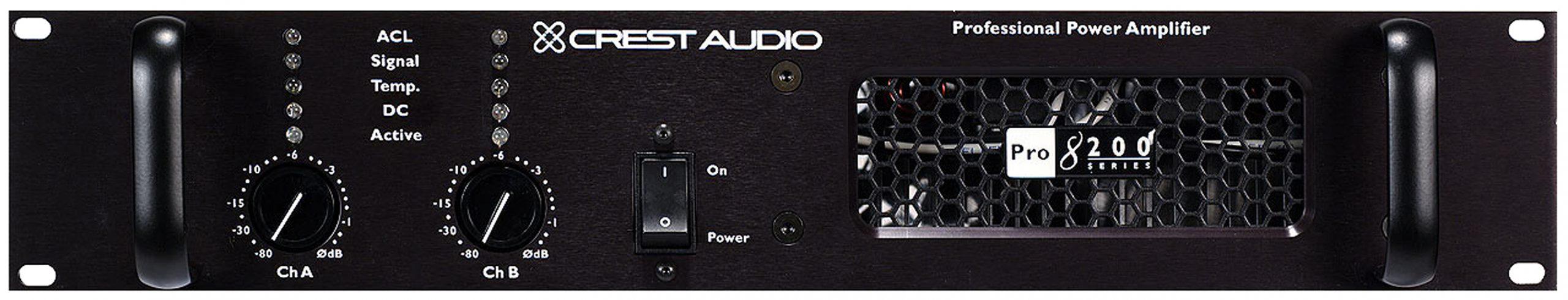 Image result for crest audio pro 8200