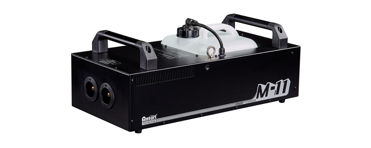 Antari M11 1600W Dual Output Fog Machine Now Available – Event Lighting