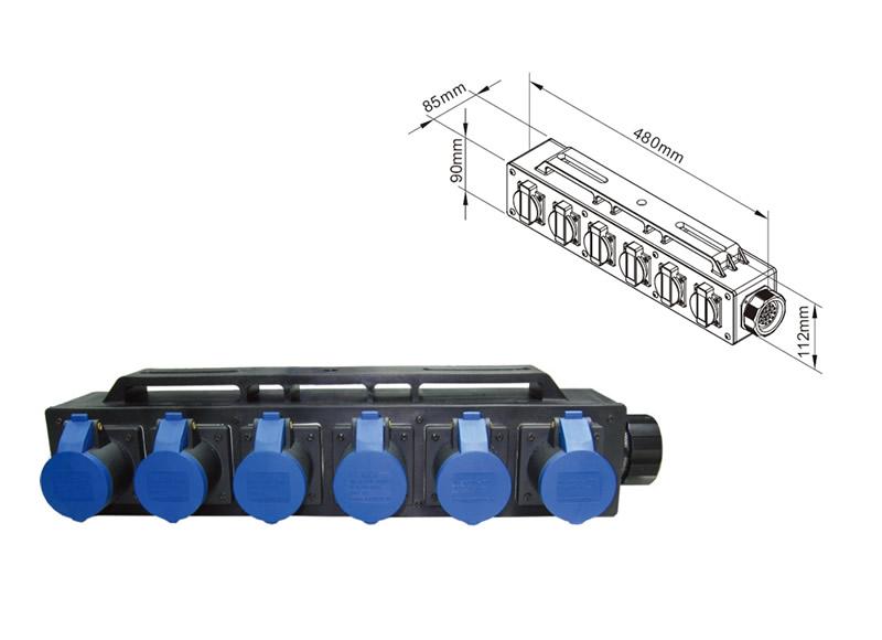 KUPO Plastic Power Box