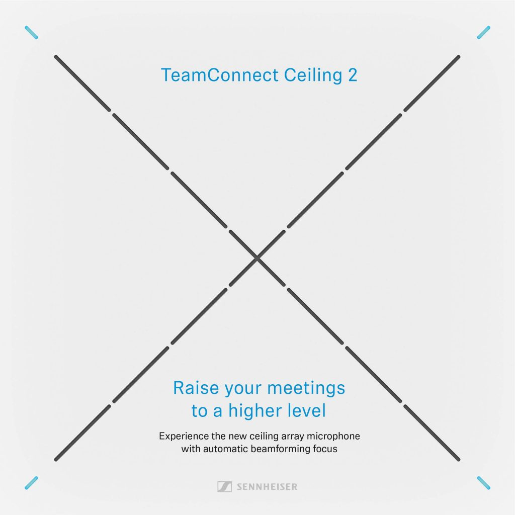 Sennheiser TeamConnect Ceiling 2 Kit with Microphone Array