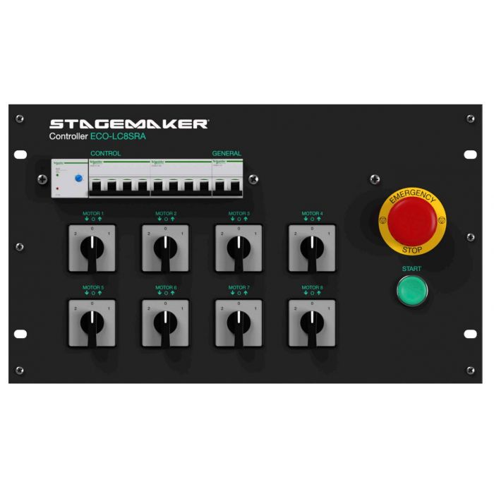 STAGEMAKER ECO-LC8SRA Controller   Discoland.fi